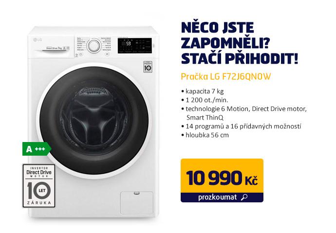 Pračka LG F72J6QN0W