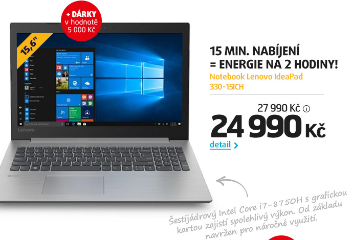 Notebook Lenovo IdeaPad 330-15ICH
