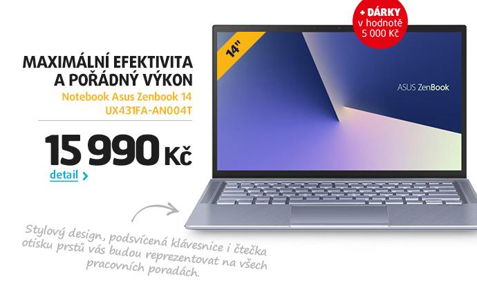 Notebook Asus Zenbook 14 UX431FA-AN004T