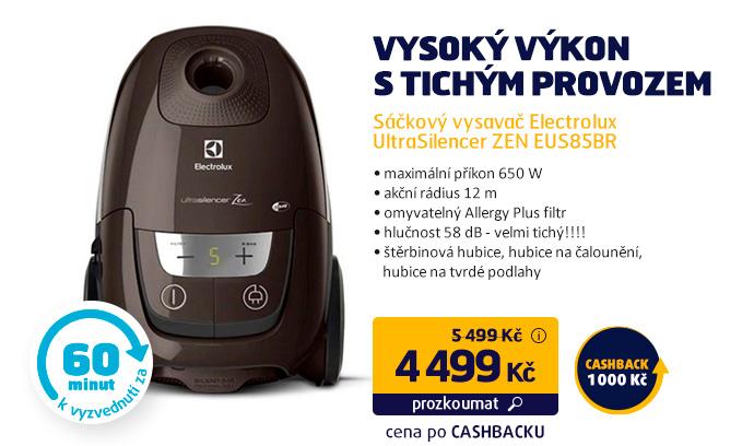 Sáčkový vysavač Electrolux UltraSilencer ZEN EUS85BR