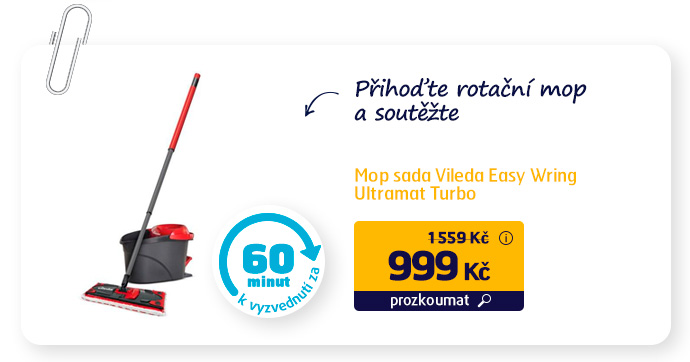 Mop sada Vileda Easy Wring Ultramat Turbo
