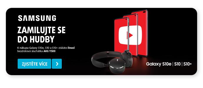 Promoakce Galaxy S10 family + sluchátka AKG