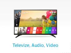 Televize, audio, video