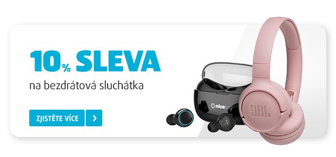 BLUETOOTH SLUCHÁTKA SE SLEVOU 10 %