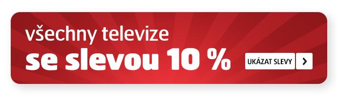 všechny TV se slevou 10 %