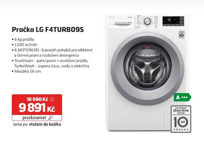 Automatická pračka LG F4TURBO9S