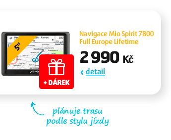 Navigace Mio Spirit 7800 Full Europe Lifetime