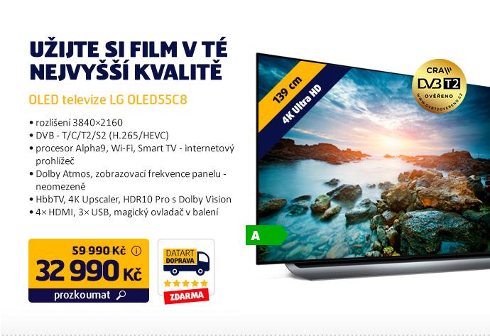 OLED televize LG OLED55C8