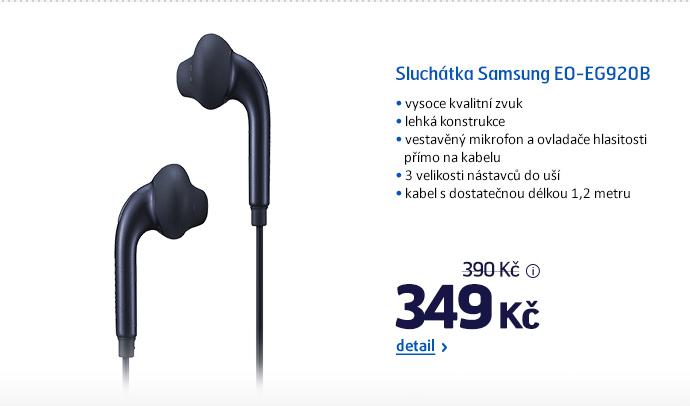 Sluchátka Samsung EO-EG920B