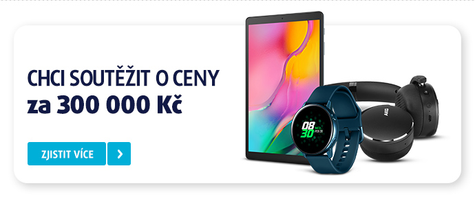 CHCI SOUTĚŽIT O CENY ZA 300 000 Kčzjistit více