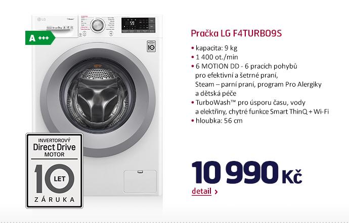 Pračka LG F4TURBO9S