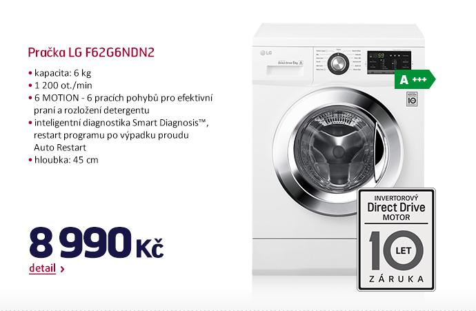 Pračka LG F62G6NDN2