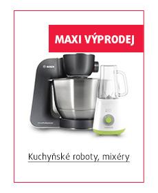 kuchyňské roboty, mixéry
