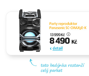 Party reproduktor Panasonic SC-CMAX5E-K
