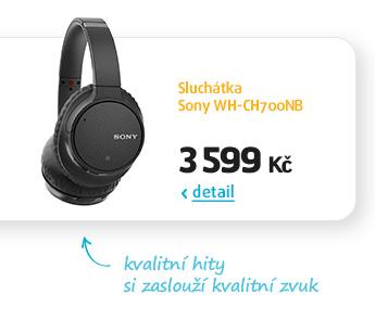 Sluchátka Sony WH-CH700NB