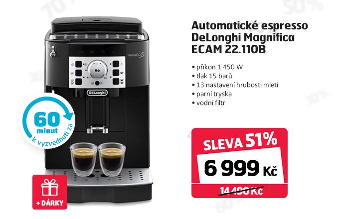 Automatické espresso DeLonghi Magnifica ECAM 22.110B