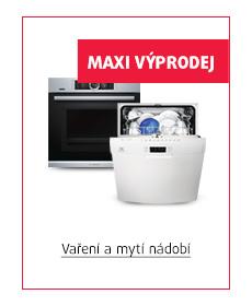 vaření a mytí nádobí