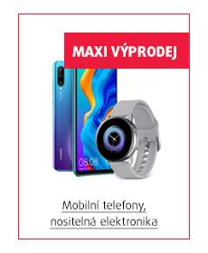 mobilní telefony, nositelná elektronika
