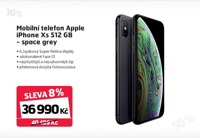 Mobilní telefon Apple iPhone Xs 512 GB - space grey