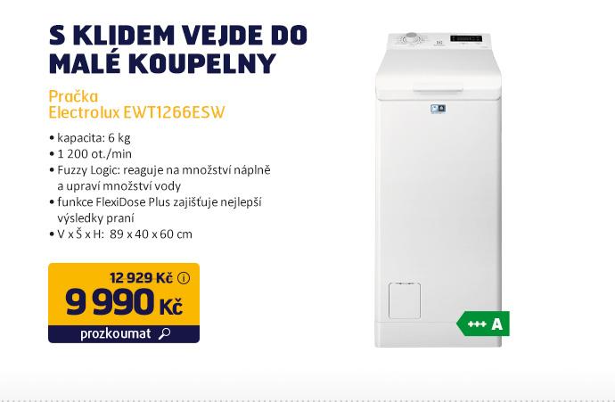 Pračka Electrolux EWT1266ESW