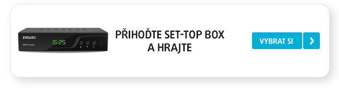 Přihoďte Set-top box a hrajte