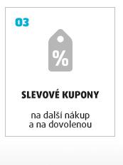 SLEVOVÉ KUPONY