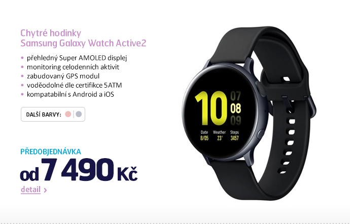 Chytré hodinky Samsung Galaxy Watch Active2