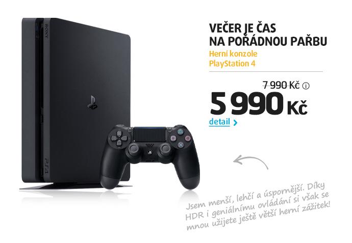 Herní konzole PlayStation 4