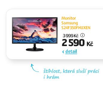 Monitor Samsung S24F350FHUXEN