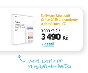 Software Microsoft Office 2019 pro studenty a domácnosti CZ