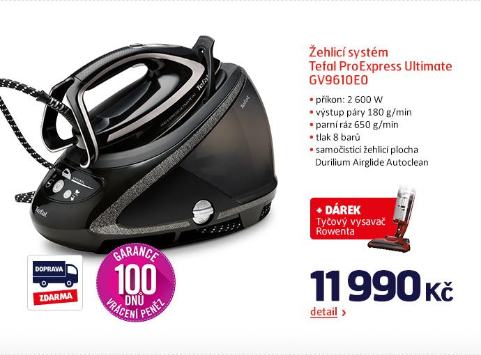 Žehlicí systém Tefal ProExpress Ultimate GV9610E0