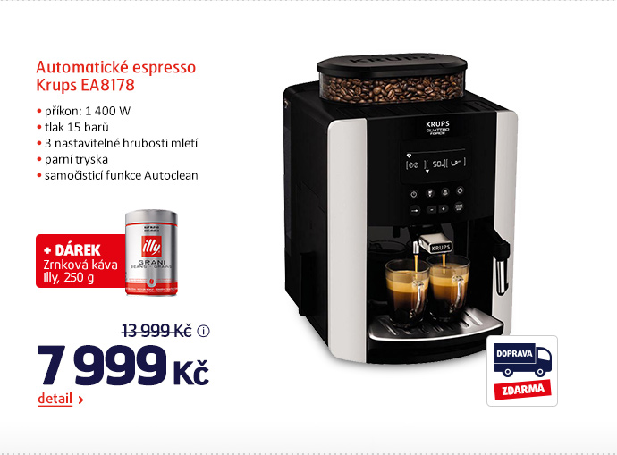 Automatické espresso Krups EA8178