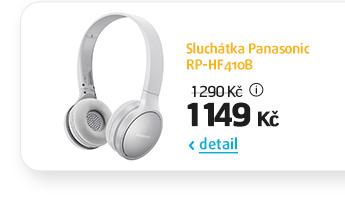 Sluchátka Panasonic RP-HF410B