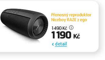 Přenosný reproduktor Niceboy RAZE 2 ego