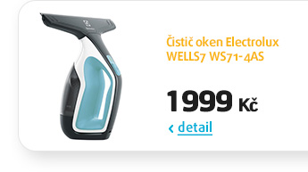Čistič oken Electrolux WELLS7 WS71-4AS