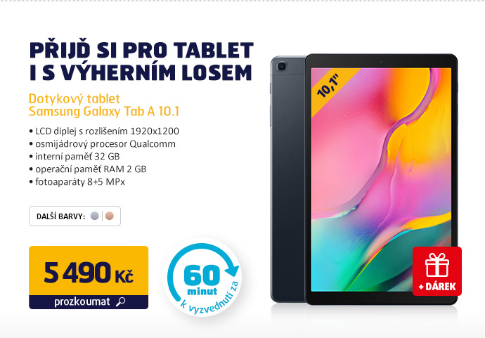 Dotykový tablet Samsung Galaxy Tab A 10.1