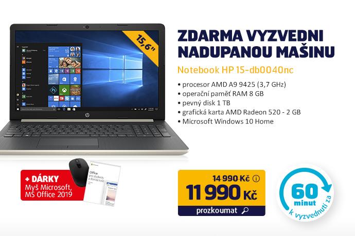 Notebook HP 15-db0040nc