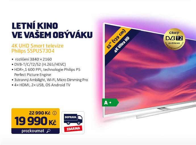 4K UHD Smart televize Philips 55PUS7304