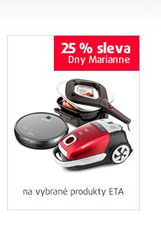 25% sleva na vybrané produkty ETA