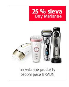 25% sleva na vybrané produkty BRAUN