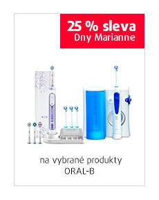 25% sleva na vybrané produkty ORAL-B