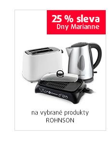 25% sleva na vybrané produkty ROHNSON