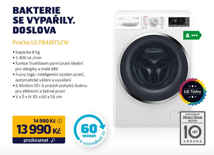 Pračka LG F84J8TS2W