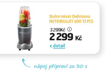 Stolní mixér Delimano NUTRIBULLET 600 12 PCS