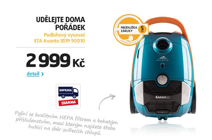 Podlahový vysavač ETA Avanto 3519 90010