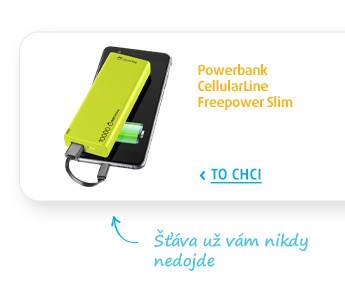 Powerbank CellularLine Freepower Slim