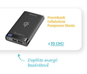Powerbank CellularLine Freepower Manta