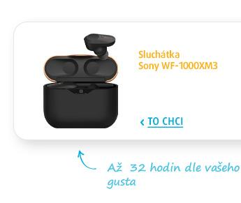 Sluchátka Sony WF-1000XM3