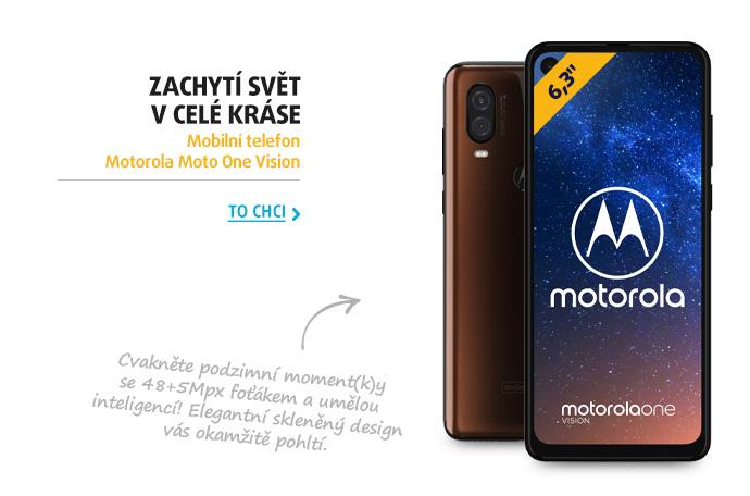 Mobilní telefon Motorola Moto One Vision