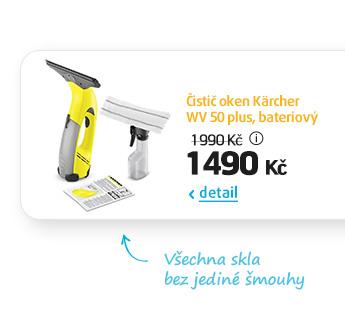 Čistič oken Kärcher WV 50 plus, bateriový